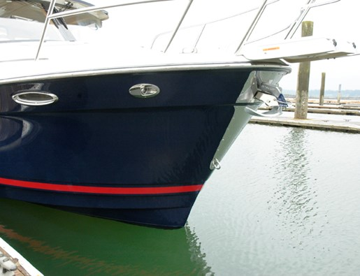 cutwater 26 bow