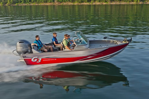 2015 g3 boats angler v192 sf aluminum fishing boat review for Angler fishing boat