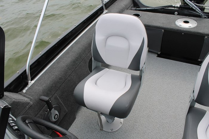 Smokercraft 162 Pro Angler seat