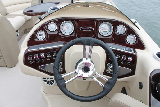 Starcraft MX 23 LP helm wheel