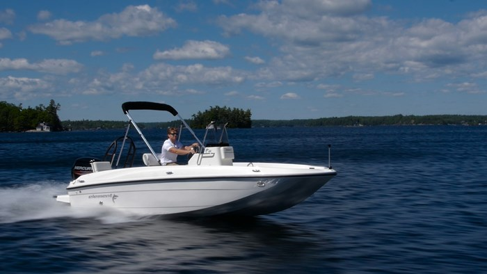 bayliner f18 element boat