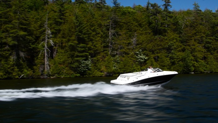 bayliner vr5 running