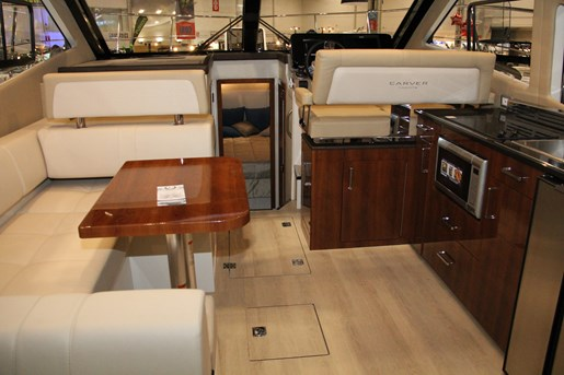 carver c37 galley