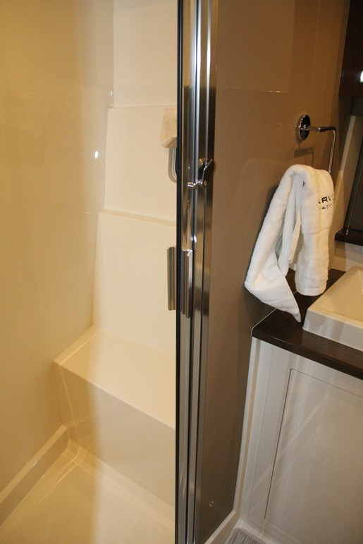 carver c37 shower pic