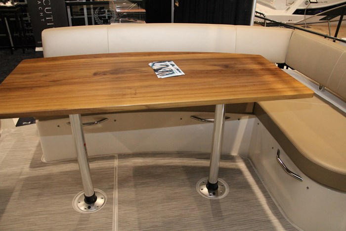 carver c43 stern table
