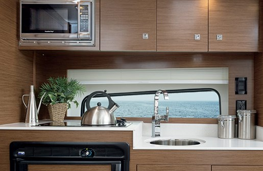 cruisers yachts 39 express coupe galley