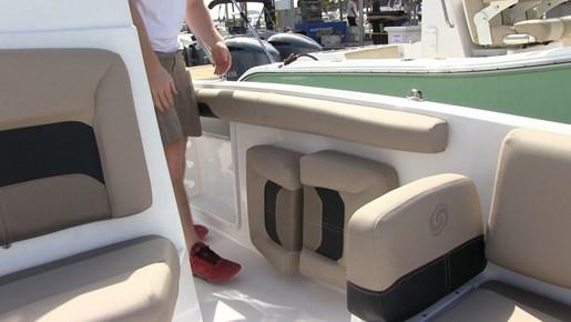hurricane cc21 seat storage