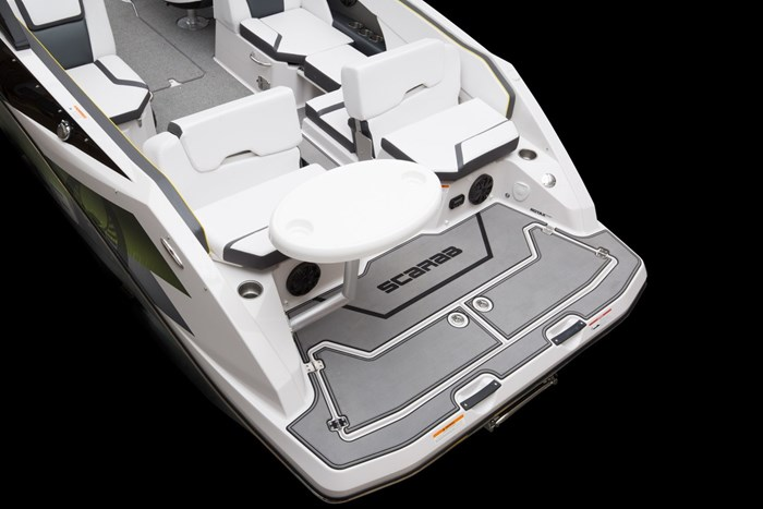 scarab 255 impulse transom