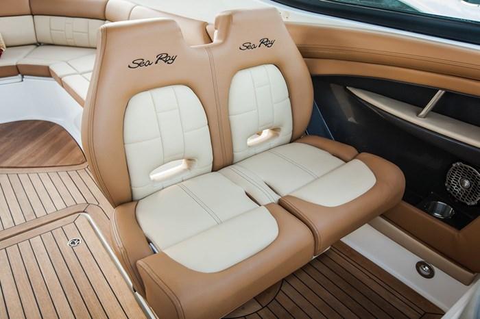 sea ray 350 slx co captain seat