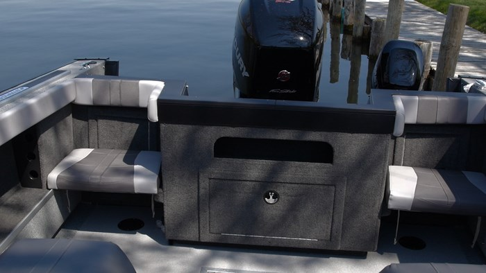 starcraft fishmaster 210 rear seats