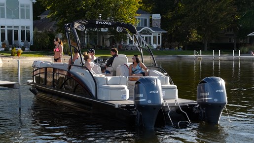 2016 Sylvan S5 Extreme Pontoon Boat Review - BoatDealers.ca