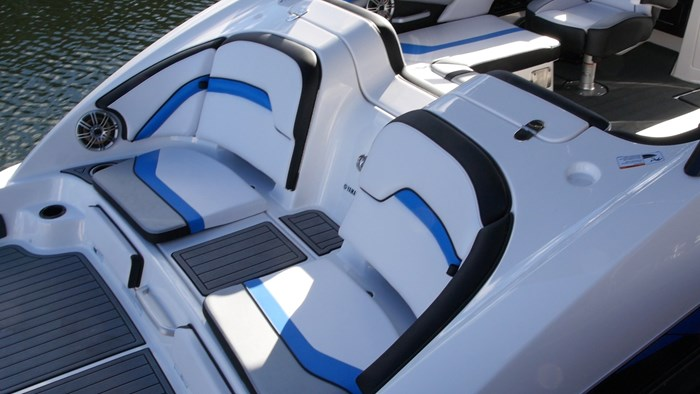 Yamaha 242x swim platform