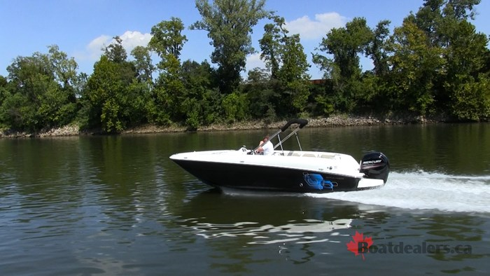 Bayliner Element E21 Running4