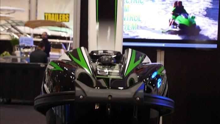 Kawasaki SXR Front Profile