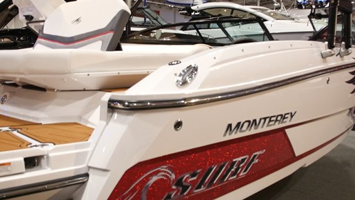Monterey 238SS Surf Profile