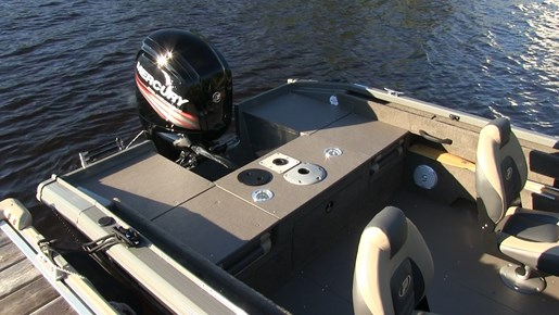 Princecraft Sport 164 rear deck