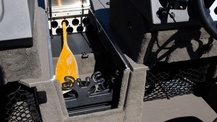 Princecraft Xpedition 200 WS Rod Storage