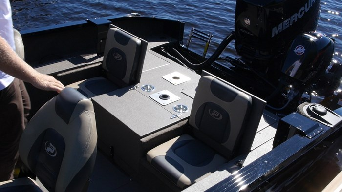 Princecraft Xpedition 200 WS jumpseats