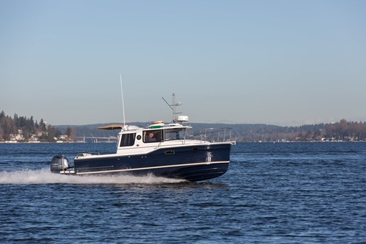 2017 Ranger Tugs R 23 Outboard Trawler Boat Review Boatdealers Ca