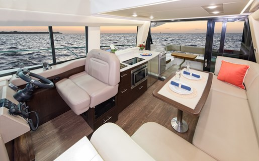 Regal 42 fly interior
