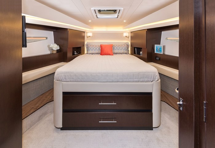 Regal 42 fly master bed