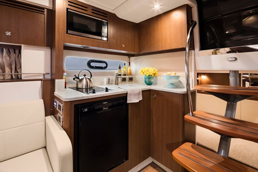 sea ray sundancer 350 coupe galley