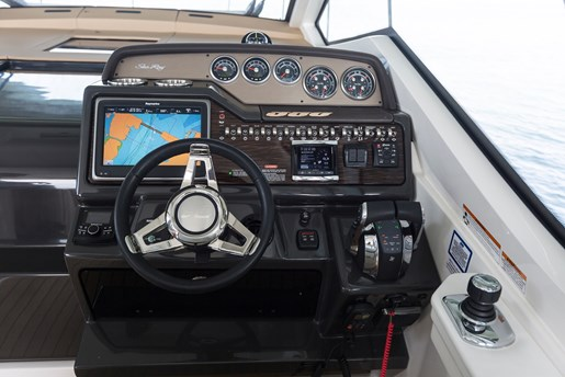 sea ray sundancer 350 coupe helm