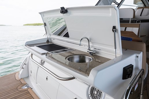 sea ray sundancer 350 coupe sink cook