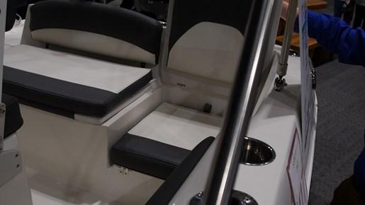 Stingray 186CC Seats