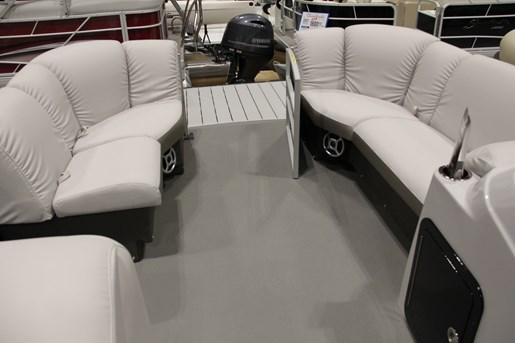 sweetwater premium 195 c pontoon bench seating