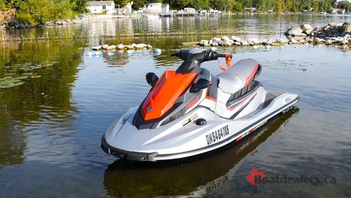 2017 Yamaha EX Deluxe Personal Water Craft Boat Review - BoatDealers ca