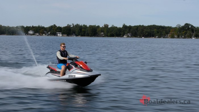 2017 Yamaha EX Deluxe Personal Water Craft Boat Review