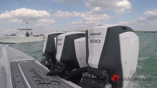 Yellowfin 34Offshore Outboards