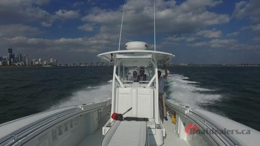 Yellowfin 34Offshore Running2