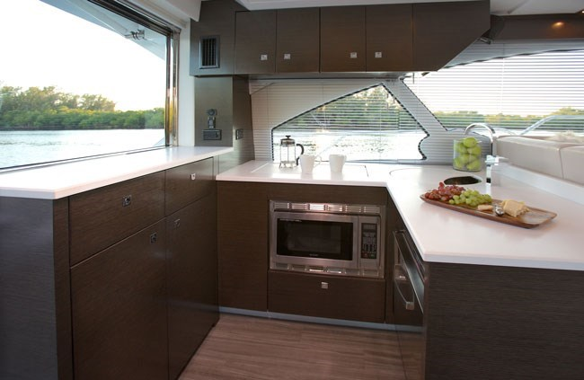 cruisers yachts 50 cantius galley