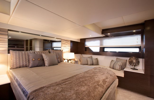 cruisers yachts 50 cantius master stateroom