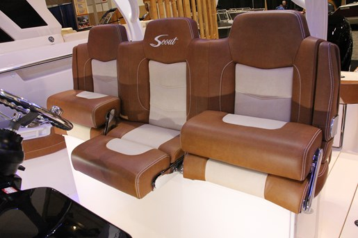 scout 355 lxf captains chairs