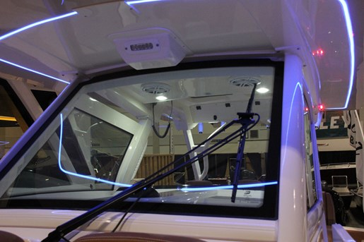scout 355 lxf windshield