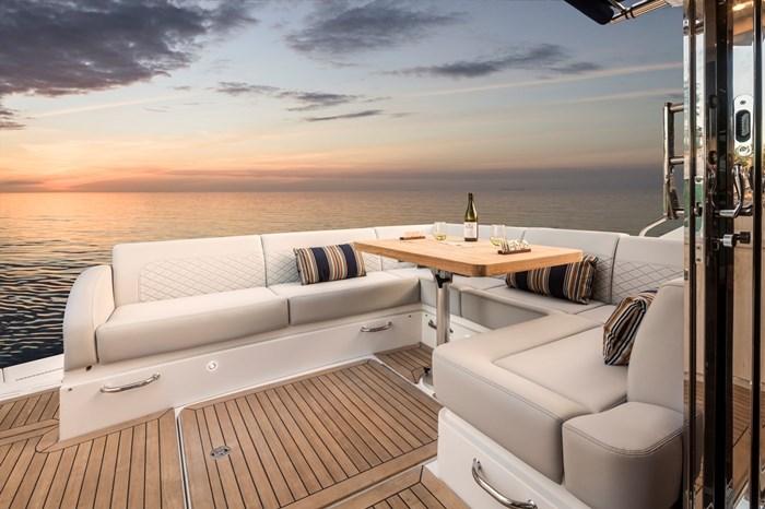 searay sundancer 510 stern