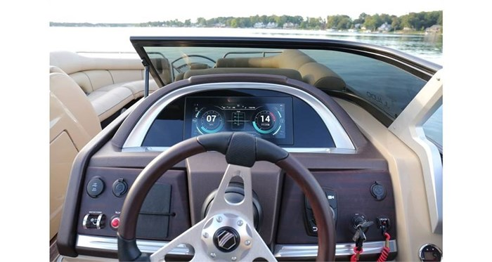 south bay rs dc 25 sport helm
