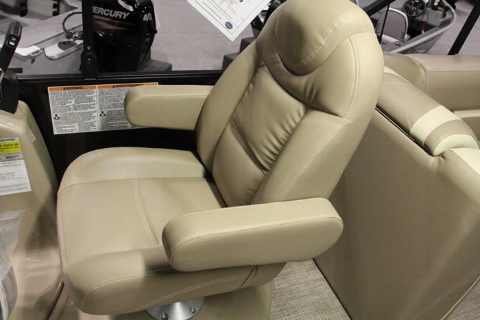 sunchaser geneva 8522 pontoon capt chair