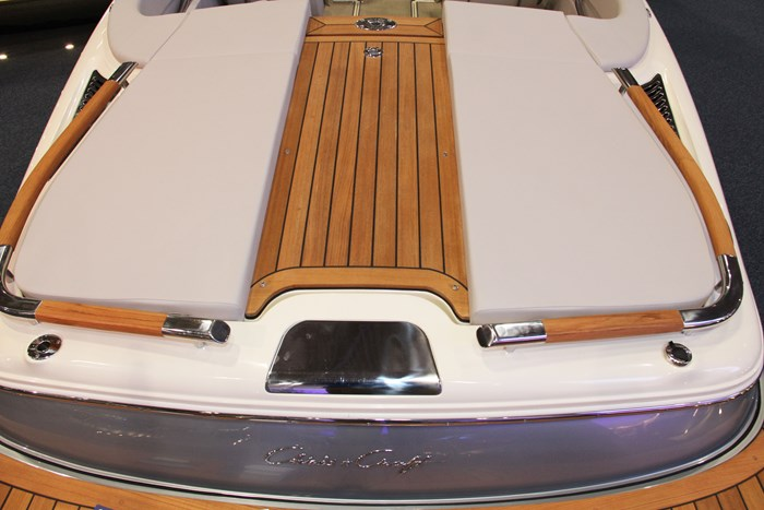 chris craft carina 21 stern lounger