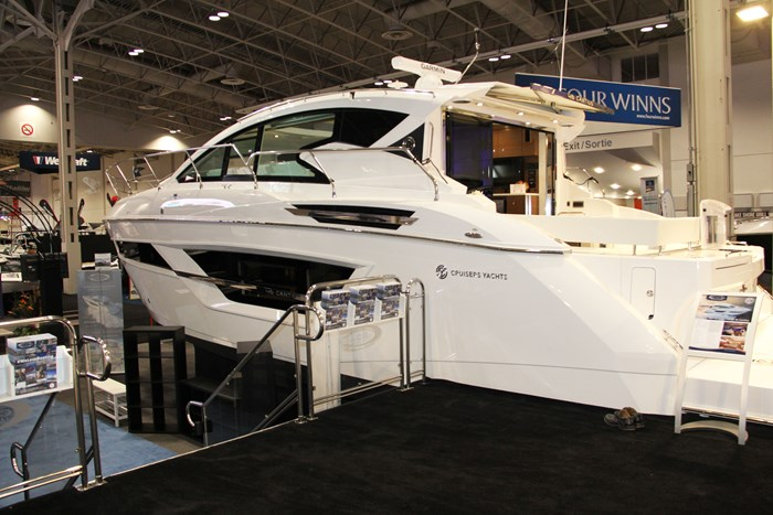 cruisers yachts 46 cantius side
