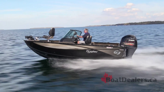 2019 G3 Boats Angler V18 SF Aluminum Fishing Boat Review