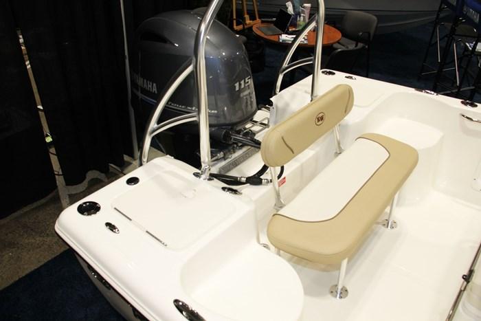 Key west 176 cc stern seat