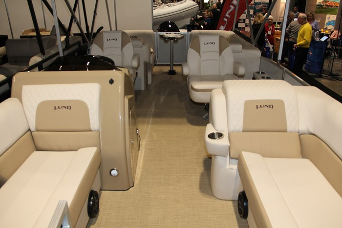 Lund zx 230 ds pontoon bow seats
