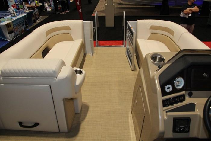 Lund zx 230 ds pontoon stern bench seats