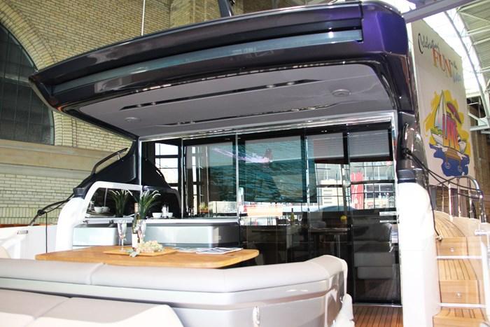princess v60 yacht hard top