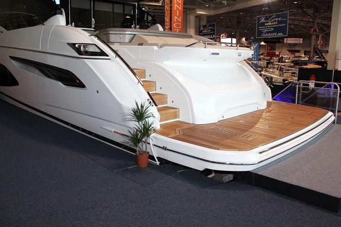 princess v60 yacht platform