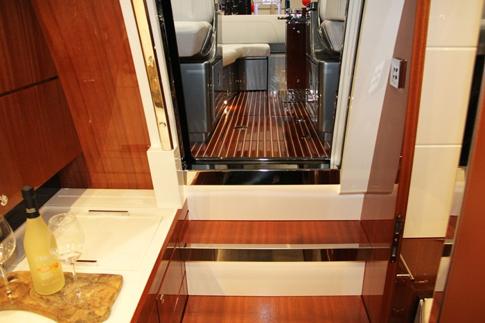 riva rivamare stairs galley